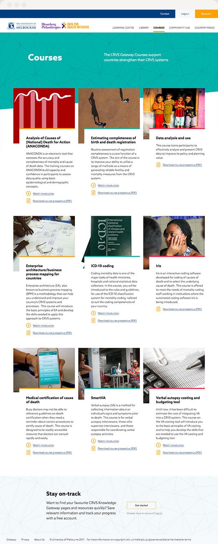 Recreating the training handbook online