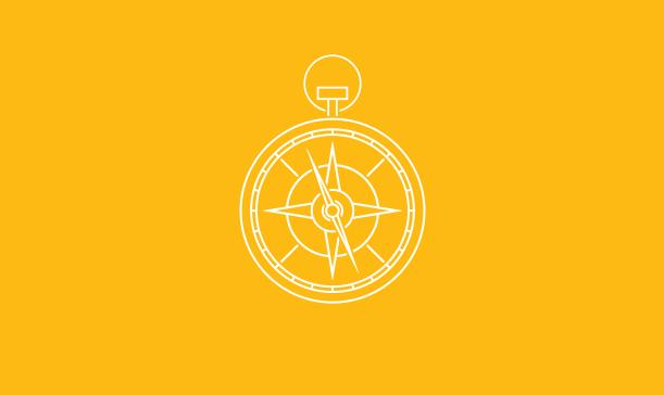 Mine Compass Illustration