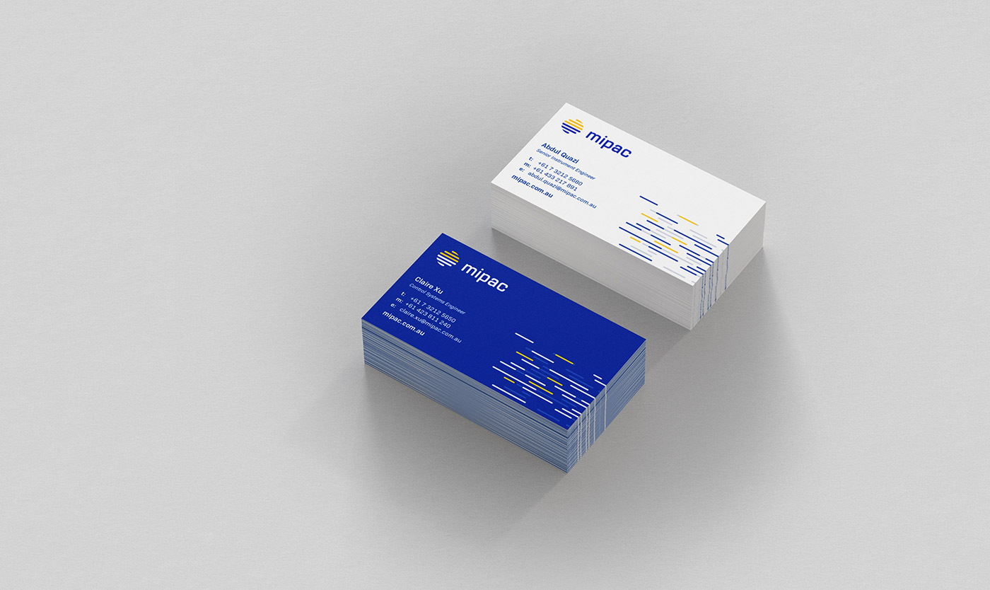 Mipac business cards