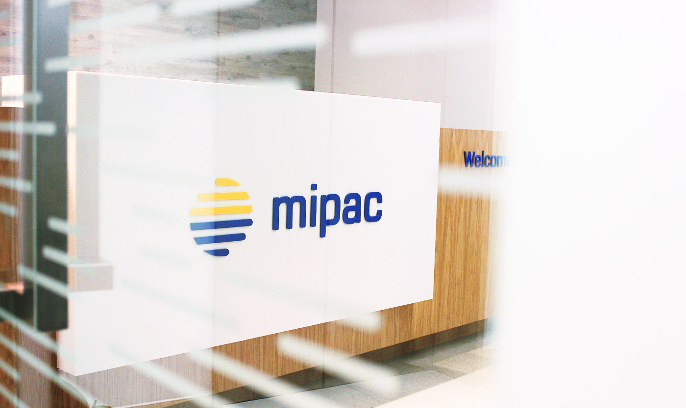 Mipac reception logo