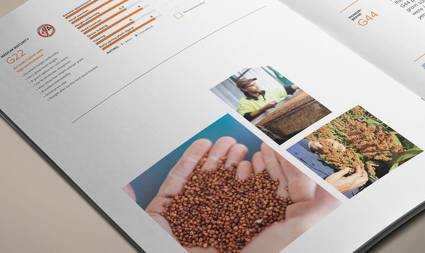 Crop guide closeup