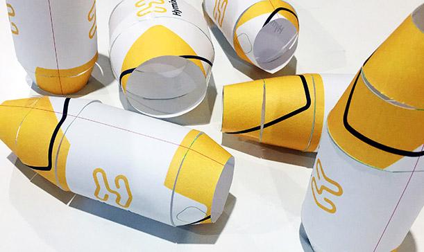 Paper dummy barrels