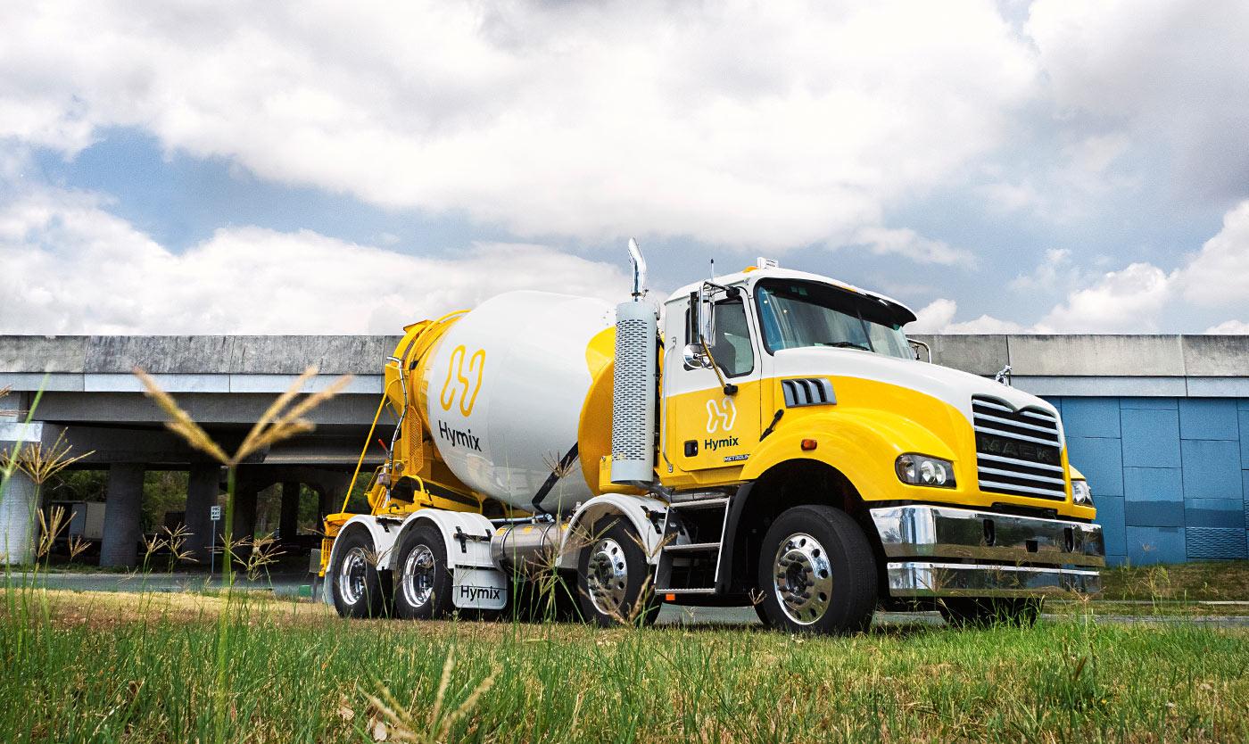 Hymix truck