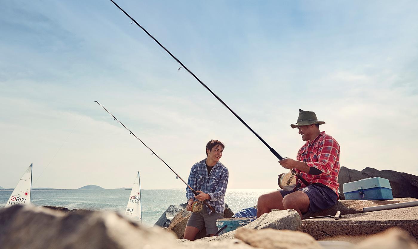 Fishing at Mooloolaba