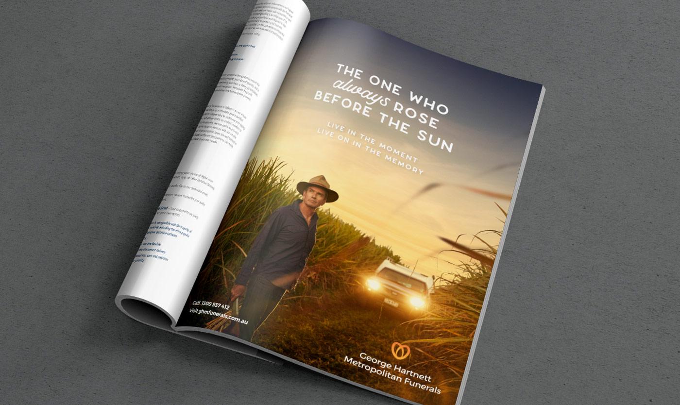 GHM Press advertisement